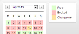 Availability calendar for WordPress